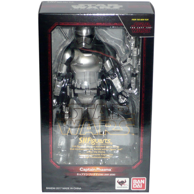 Bandai S.H. Figuarts Star Wars The Last Jedi Captain Phasma Action Figure | Galactic Toys & Collectibles