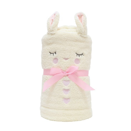 Department 56 45 inches Height x 1 inches Width x 60 inches Length Snowpinions Bunny Snowthrow Plush Toys