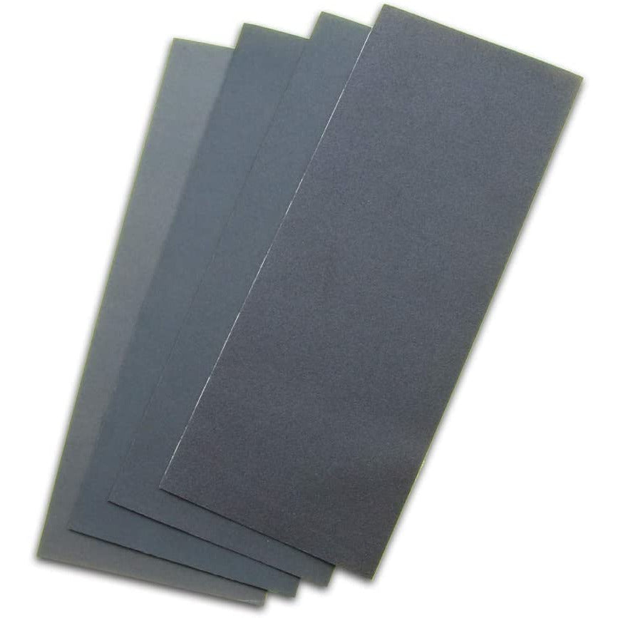 GodHand NY4 Emery Cloth Flex Sanding Paper Assortment Set (4 pcs)