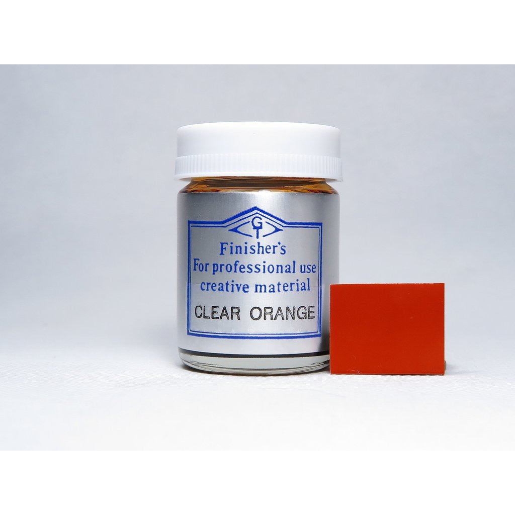 Finisher's FI076 Clear Orange 20ml Lacquer Paint Bottle