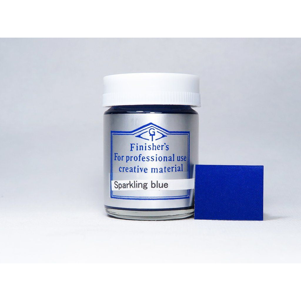 Finisher's FI062 Metallic Sparkling Blue 20ml Lacquer Paint Bottle