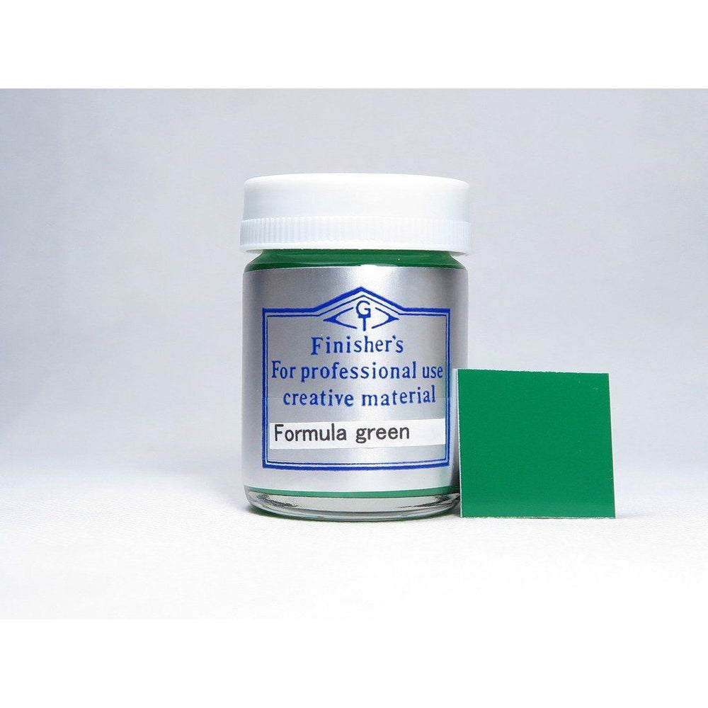 Finisher's FI055 Formula Green 20ml Lacquer Paint Bottle