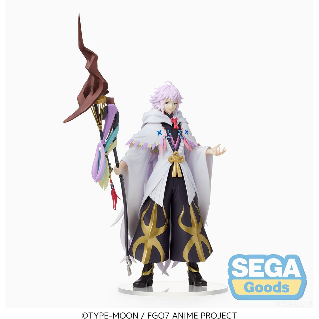 Sega Fate/Grand Order Absolute Demonic Front: Babylonia SPM Merlin Figure Statue (PRE-ORDER: May 2021)