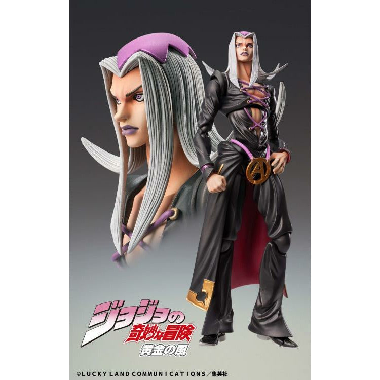 (PRE-ORDER October 2021) Medicos Jojo's Bizarre Adventure Part 5 Golden Wind Chozo Kado Leone Abbacchio Action Figure