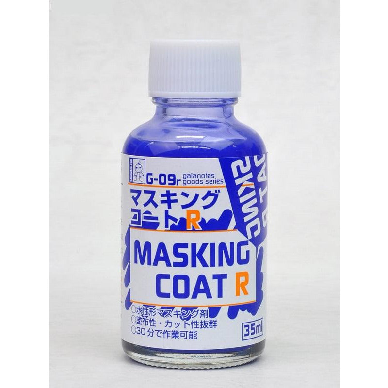 Gaia Notes G-09r Masking Coat R Liquid Masking Tape 35ml Paint Bottle