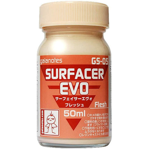Gaia Notes GS-05 Surfacer Evo Flesh Lacquer Paint 50ml Bottle