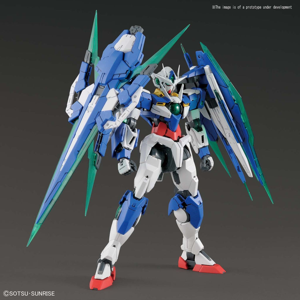 Bandai Hobby Gundam 00V Battle Record 00 QAN[T] Full Saber MG 1/100 Model Kit