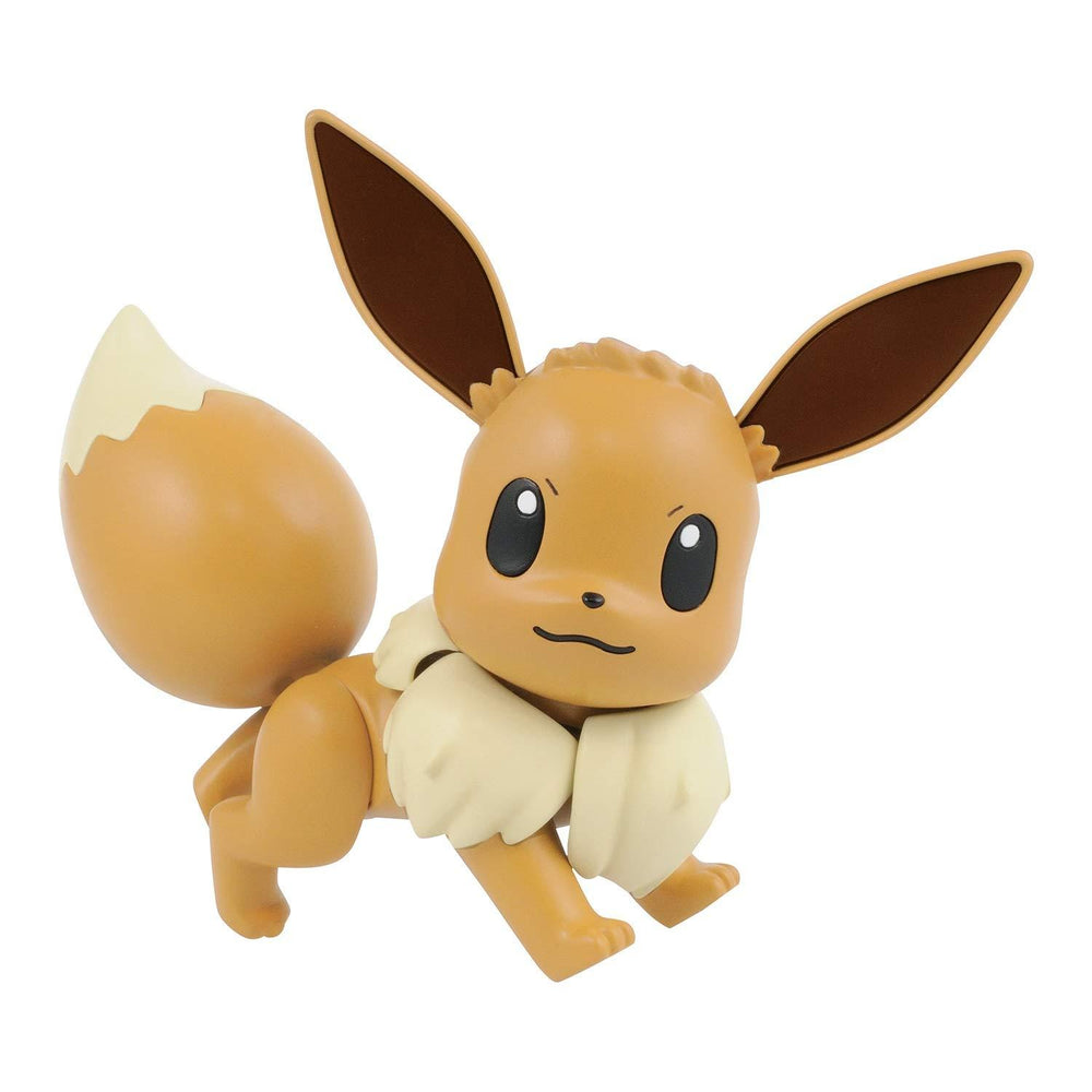 Bandai Hobby Pokemon Plamo Eevee Figure Model Kit | Galactic Toys & Collectibles