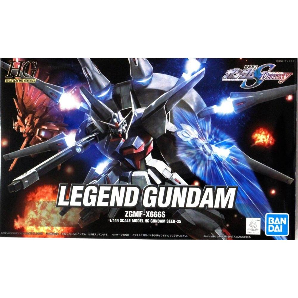 Bandai Hobby Gundam SEED Destiny #35 Legend Gundam HG 1/144 Model Kit