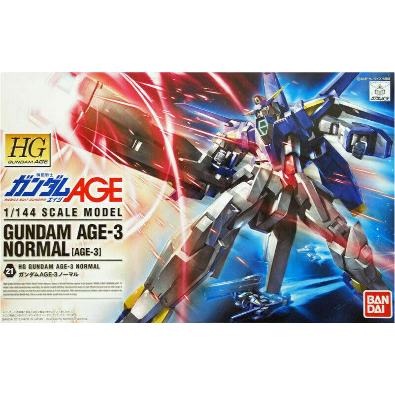 Bandai Hobby Gundam AGE #21 AGE-3 Normal HG 1/144 Model Kit