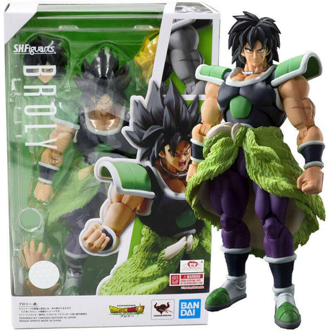 Bandai S.H. Figuarts Dragon Ball Super Broly Action Figure