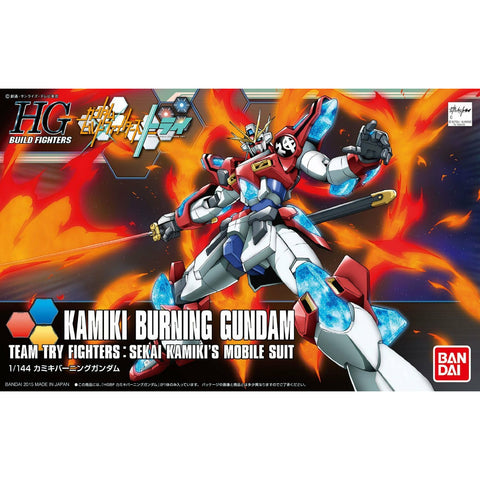 Bandai Hobby Build Fighters HGBF Kamiki Burning Gundam HG 1/144 Model Kit