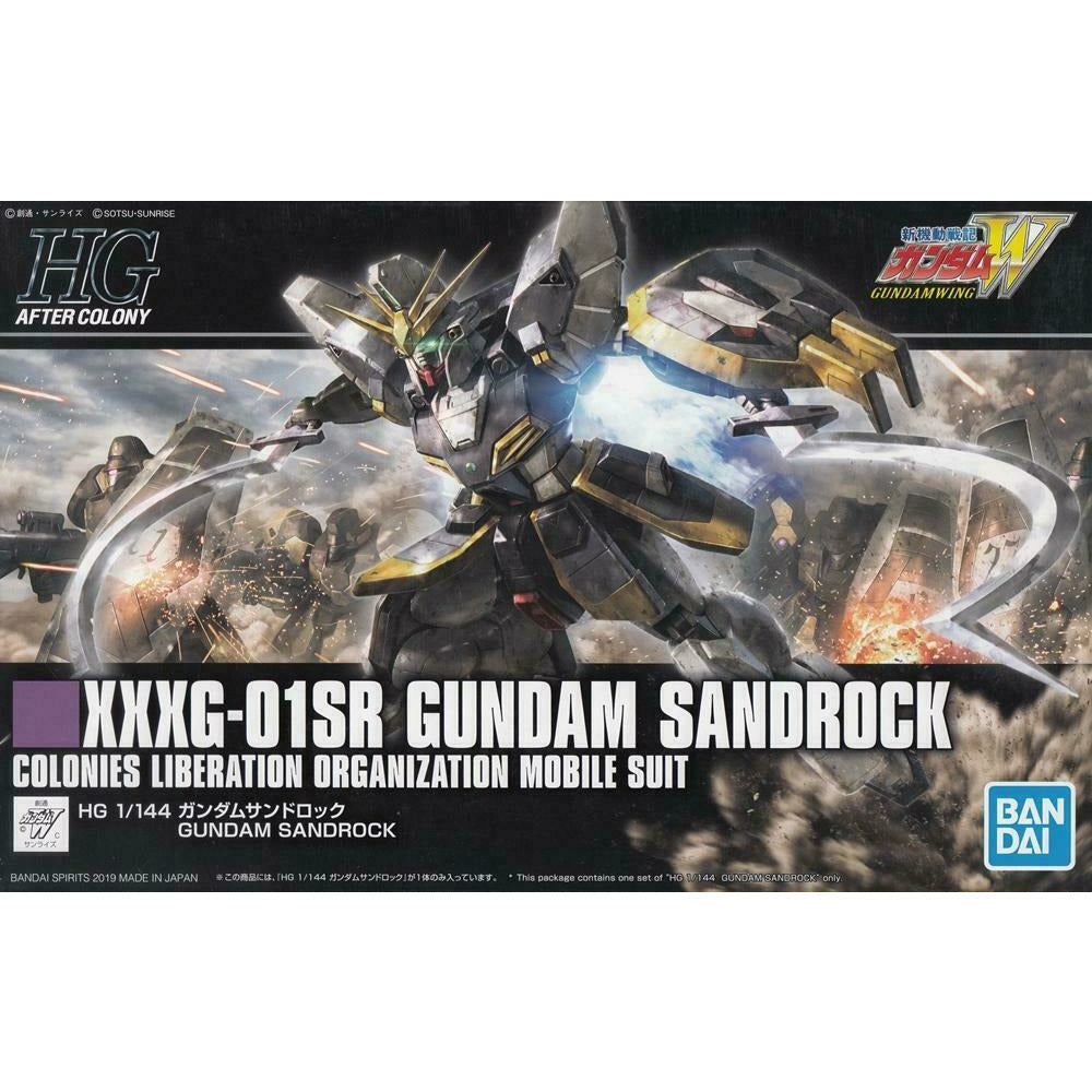 Bandai Spirits Wing HGAC #228 Gundam Sandrock HG 1/144 Model Kit