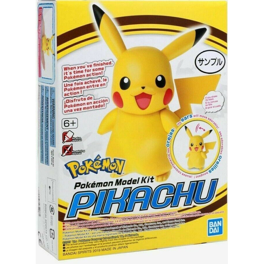 Bandai Hobby Pokemon Plamo Pikachu Model Kit