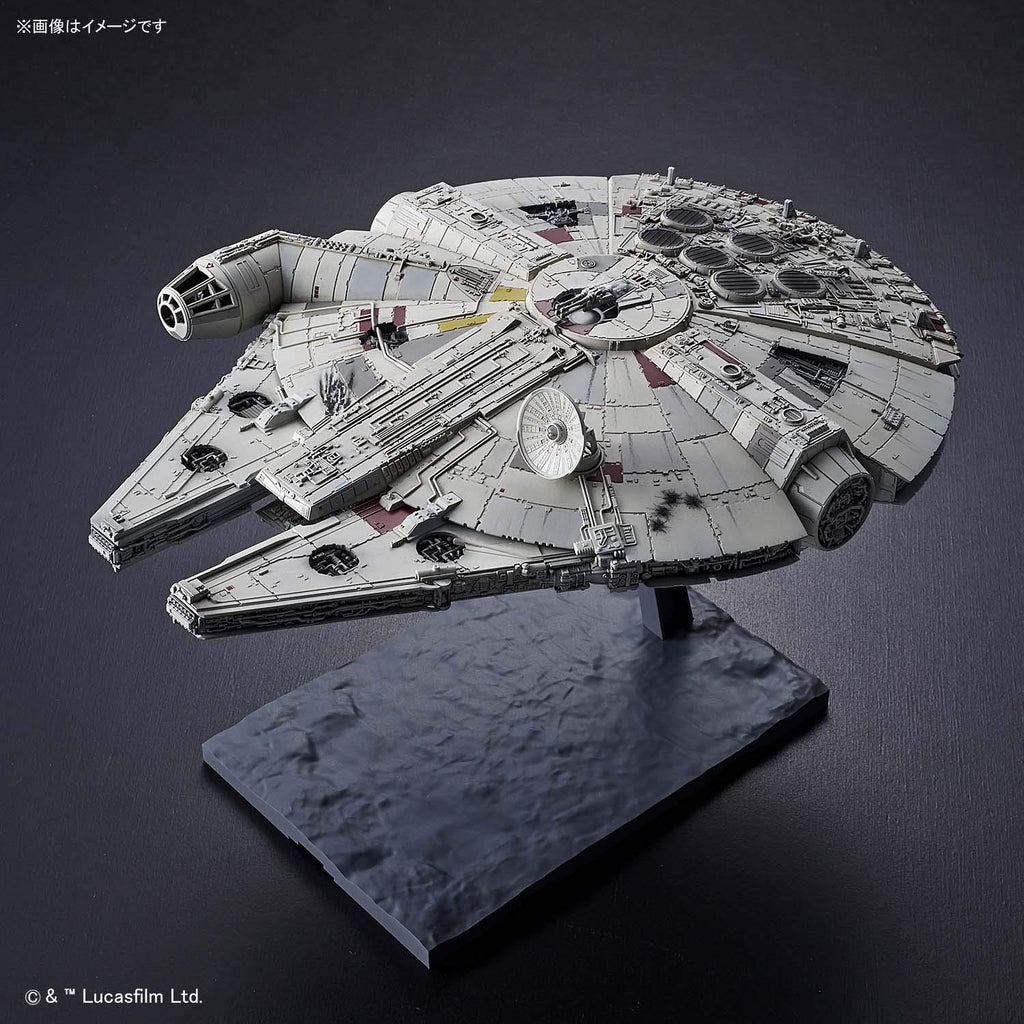 Bandai Star Wars The Rise of Skywalker Millennium Falcon 1/144 Scale Model Kit