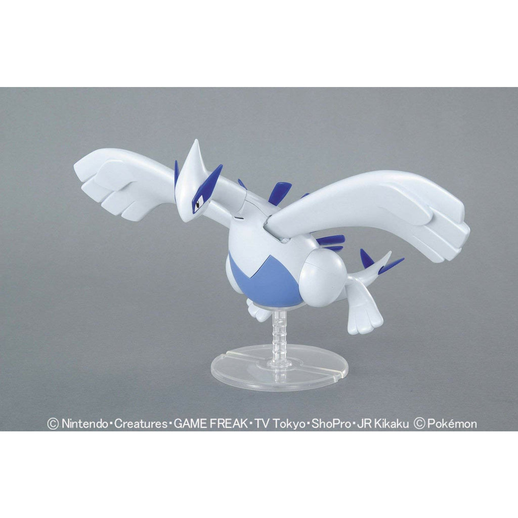 Bandai Pokemon Plamo Lugia Figure Model Kit