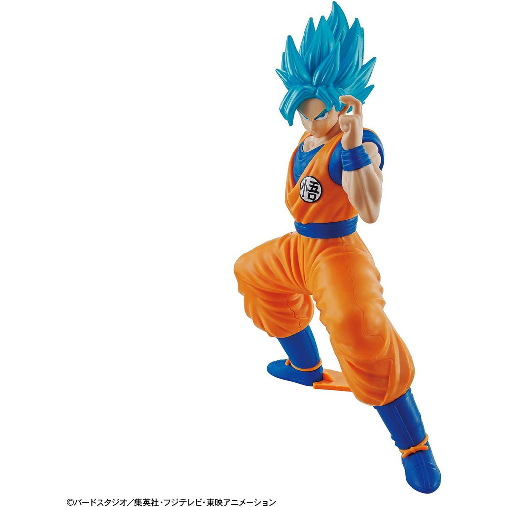 Bandai Hobby Dragon Ball Z Super Saiyan God SSGSS Son Goku Entry Grade Model Kit | Galactic Toys & Collectibles