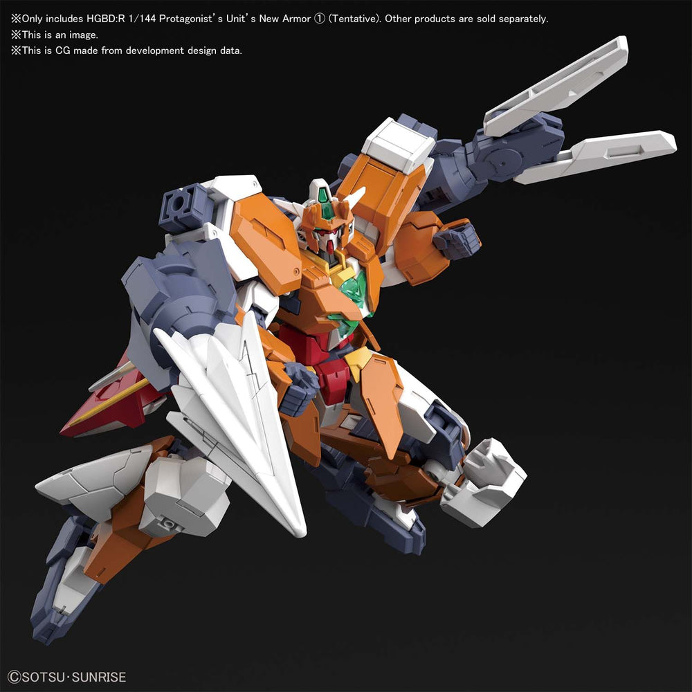 Bandai Spirits Gundam Build Divers Hero Saturnix Unit Armor HG 1/144 Model Kit