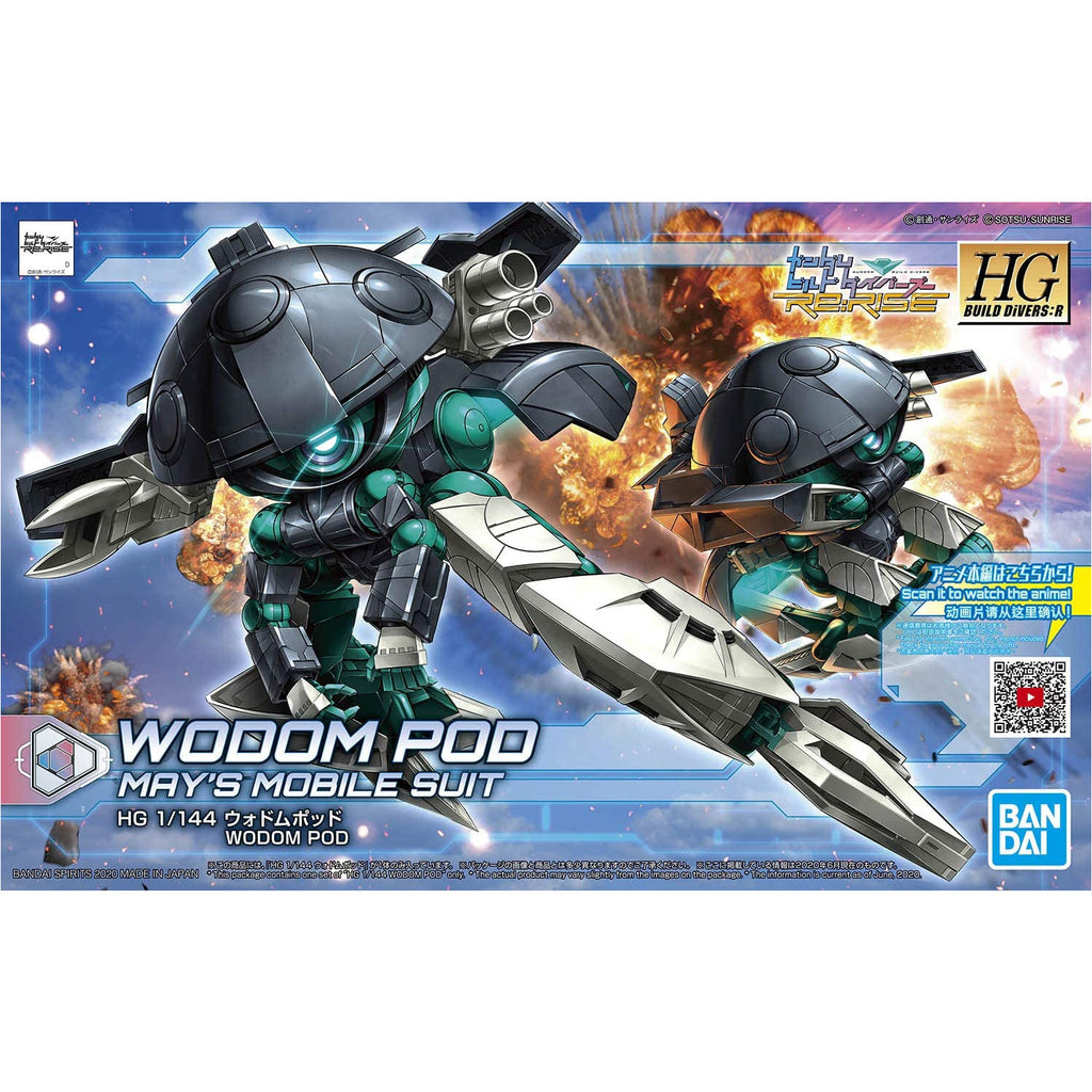 Bandai Spirits Gundam Build Divers Re:Rise Wodom Pod HG 1/144 Model Kit