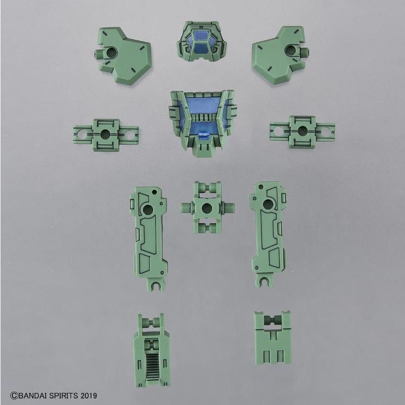 Bandai Spirits 30MM 30 Minute Missions Rabiot Special Operation Armor Light Green Model Kit