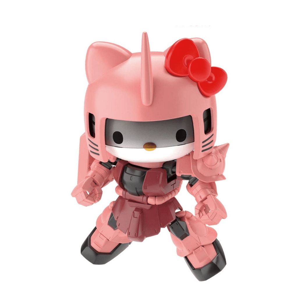 Bandai Spirits Gundam SDCS Cross Silhouette Hello Kitty MS-06S Char's Zaku II SD Model Kit (PRE-ORDER: January 2021)
