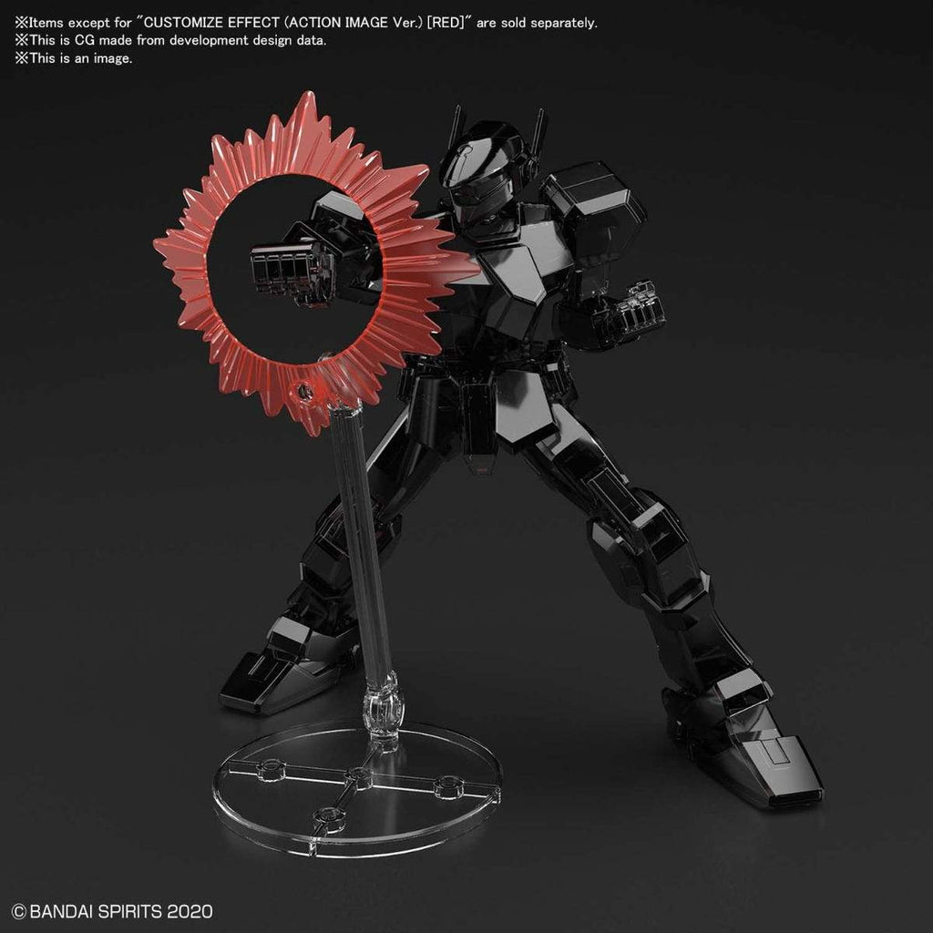 Bandai Spirits 30MM Customize Effect #08 Action Image Red Ver. Model Kit (PRE-ORDER February 2021)