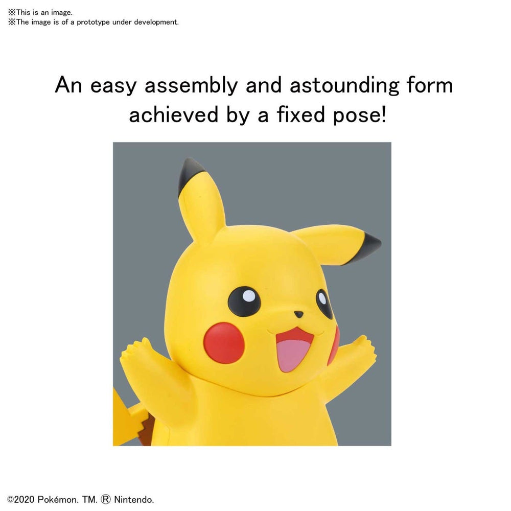 Bandai Spirits Pokemon Pikachu Quick Model Kit (PRE-ORDER: January 2021)