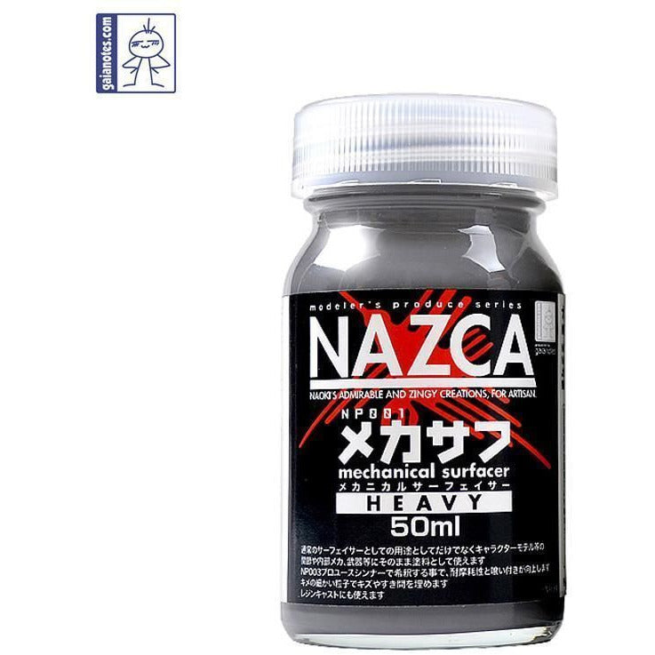 Gaia Notes Nazca Series NP001 Mechanical Surfacer Heavy Lacquer Paint 50ml