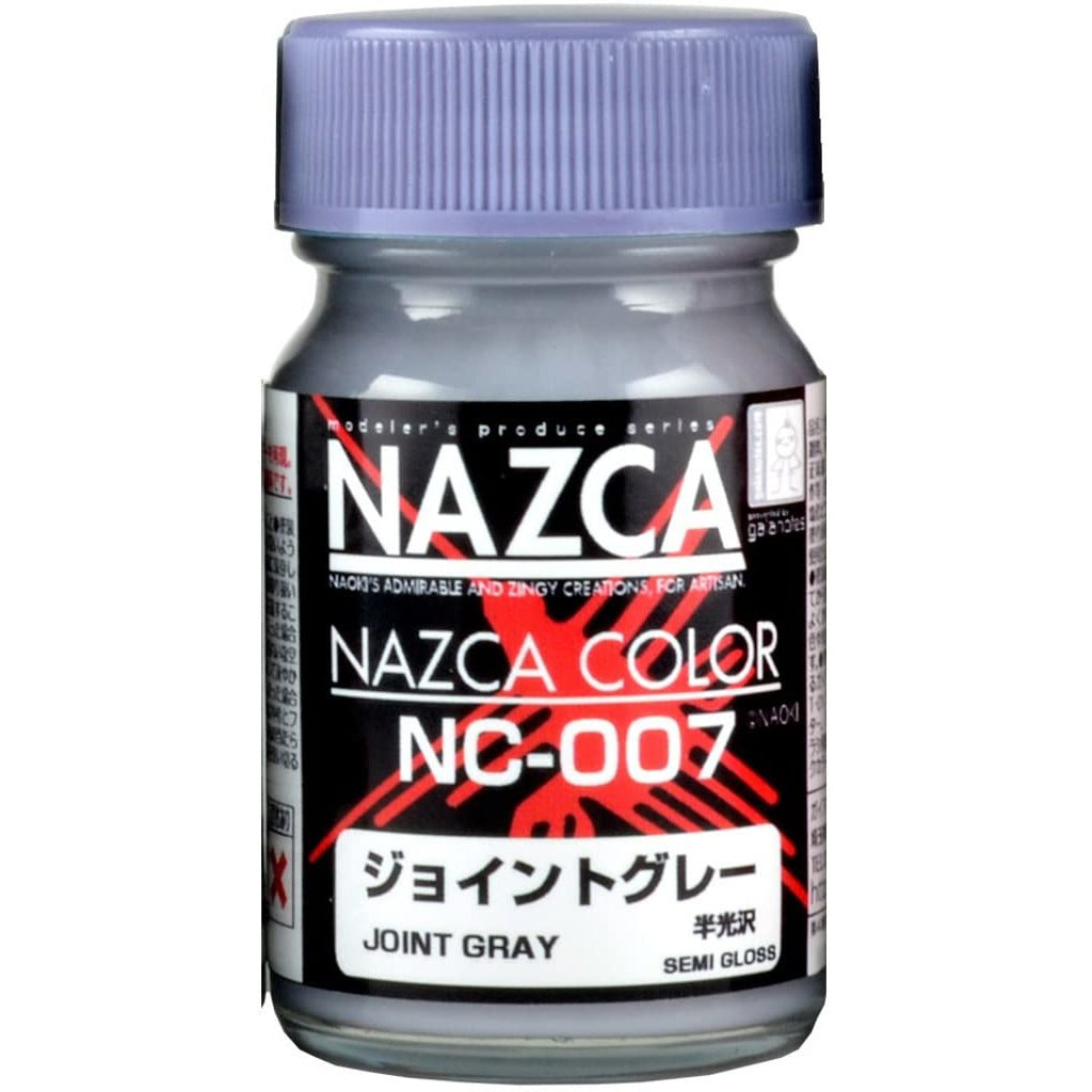 Gaia Notes Nazca Color Series NC-007 Joint Gray Grey Lacquer Paint 15ml
