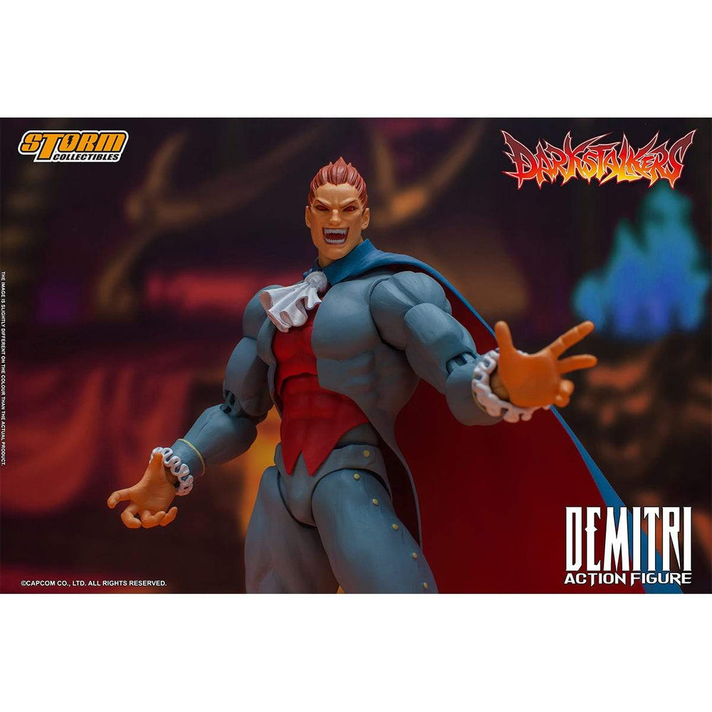 (PRE-ORDER - March 2021) Storm Collectibles Darkstalkers Demitri Maximoff 1/12 Scale Action Figure