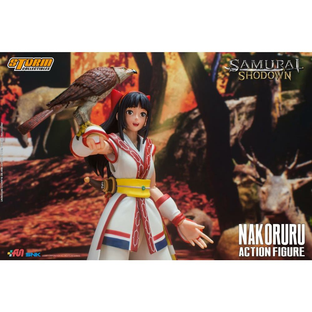 (PRE-ORDER September 2021) Storm Collectibles Samurai Shodown Nakoruru  Action Figure