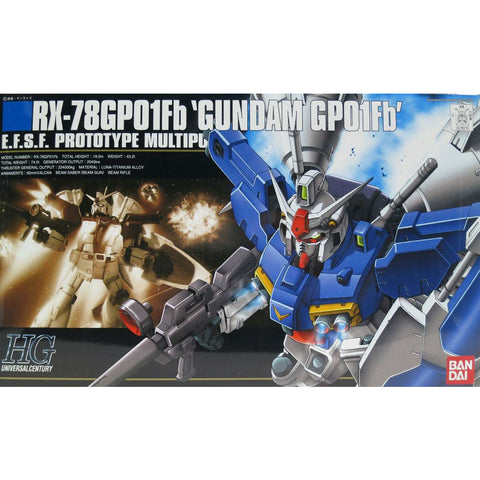 Bandai Stardust Memory Gundam GP01Fb Full Burnern Zephyranthes HG 1/144 Model Kit