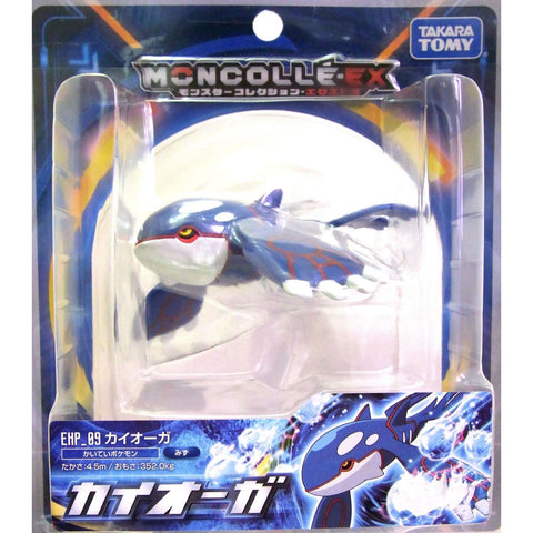 "Takara Tomy Pokemon Collection EHP_09 EX Moncolle Kyogre 4"" Action Figure"