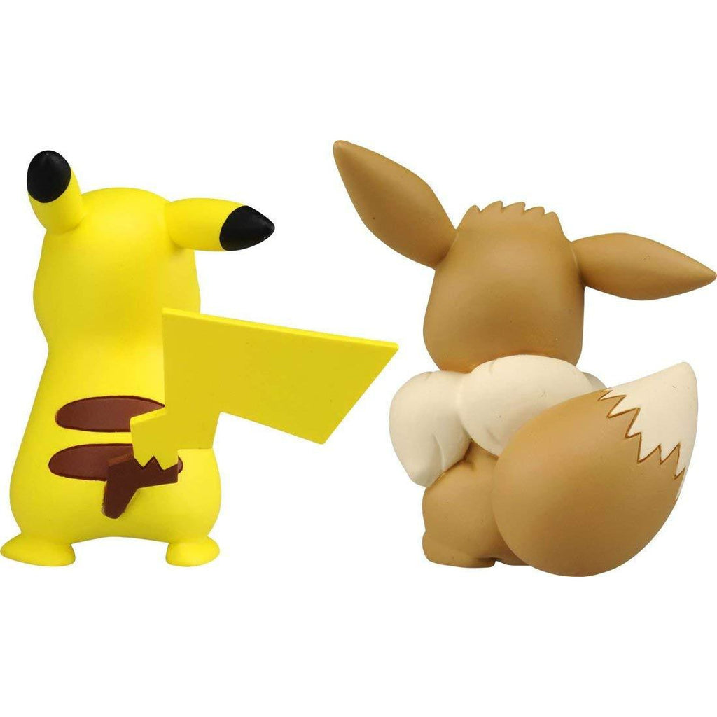 Takara Tomy Pokemon Collection EX Moncolle ESP-10 Pikachu & Eevee 2-Pack Figure