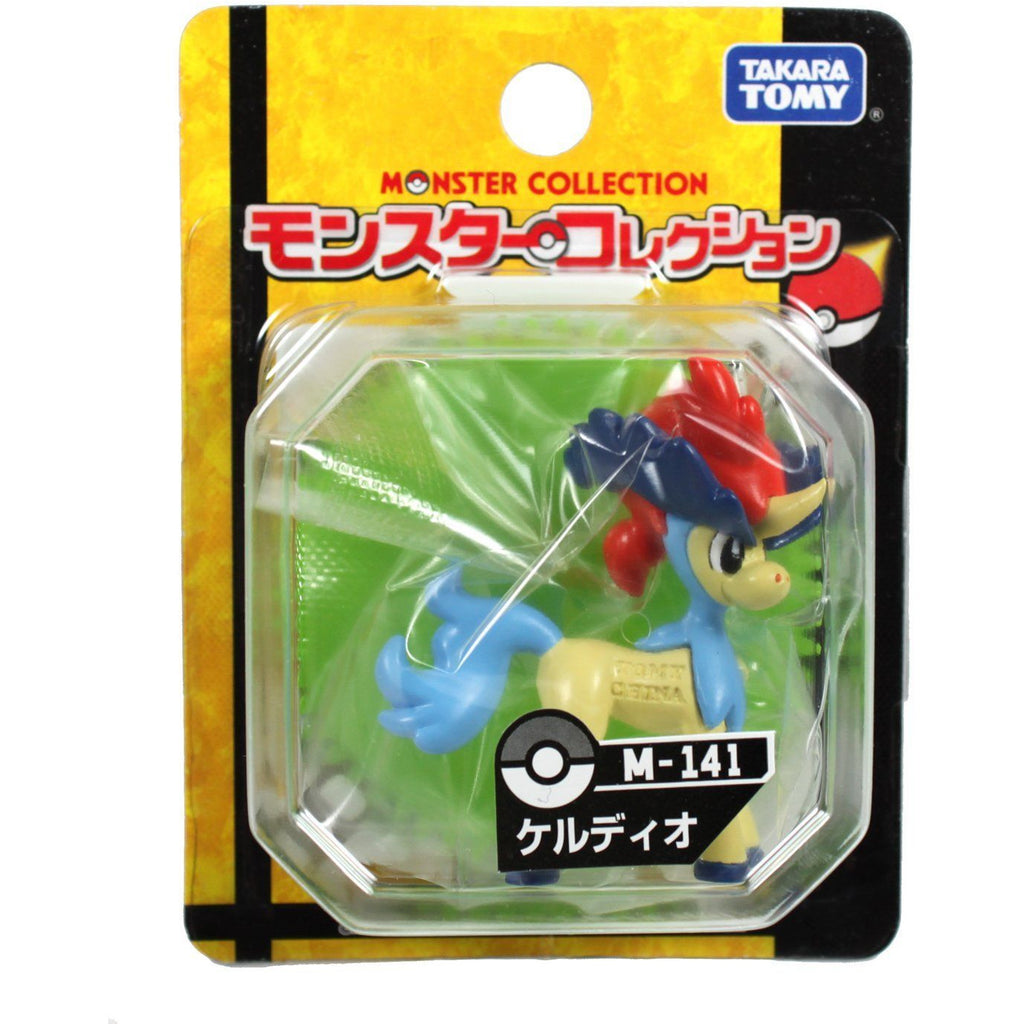 Takara Tomy Pokemon Monster Collection M-141 Keldeo Figure