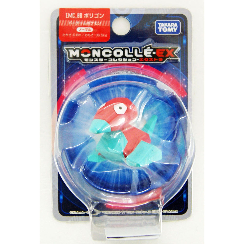 Takara Tomy Pokemon Monster Collection EX Moncolle EMC_08 Porygon Figure
