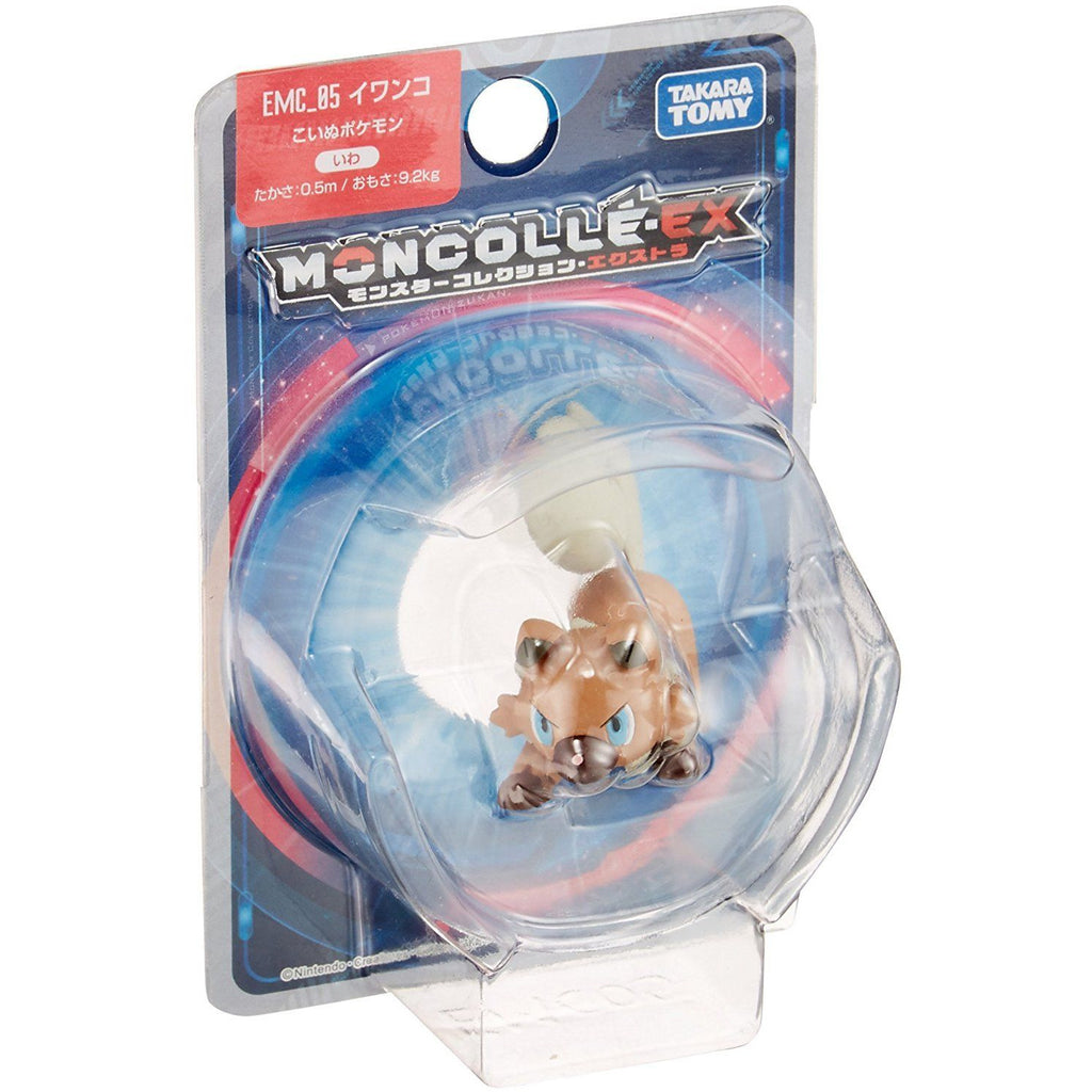 Takara Tomy Pokemon Monster Collection Moncolle EX EMC-05 Rockruff Action Figure