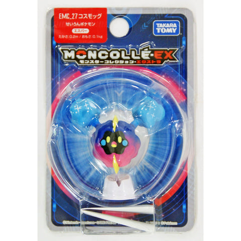 "Takara Tomy Pokemon Monster Collection EX Moncolle EMC-27 Cosmog 1.5"" Figure"