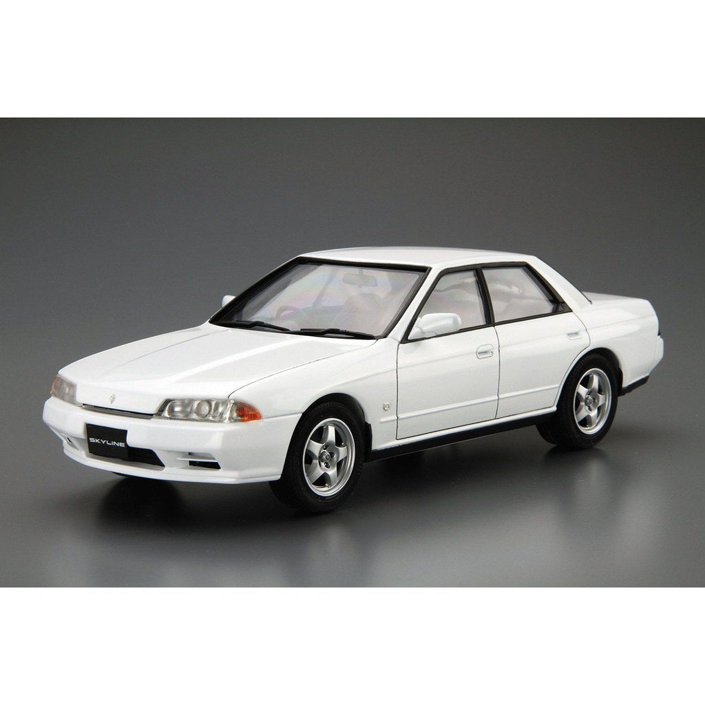 (PRE-ORDER: Expected April 2021) Aoshima Model Car #32 Nissan HCR32 Skyline GTS-t Type M '89 1/24 Scale Model Kit