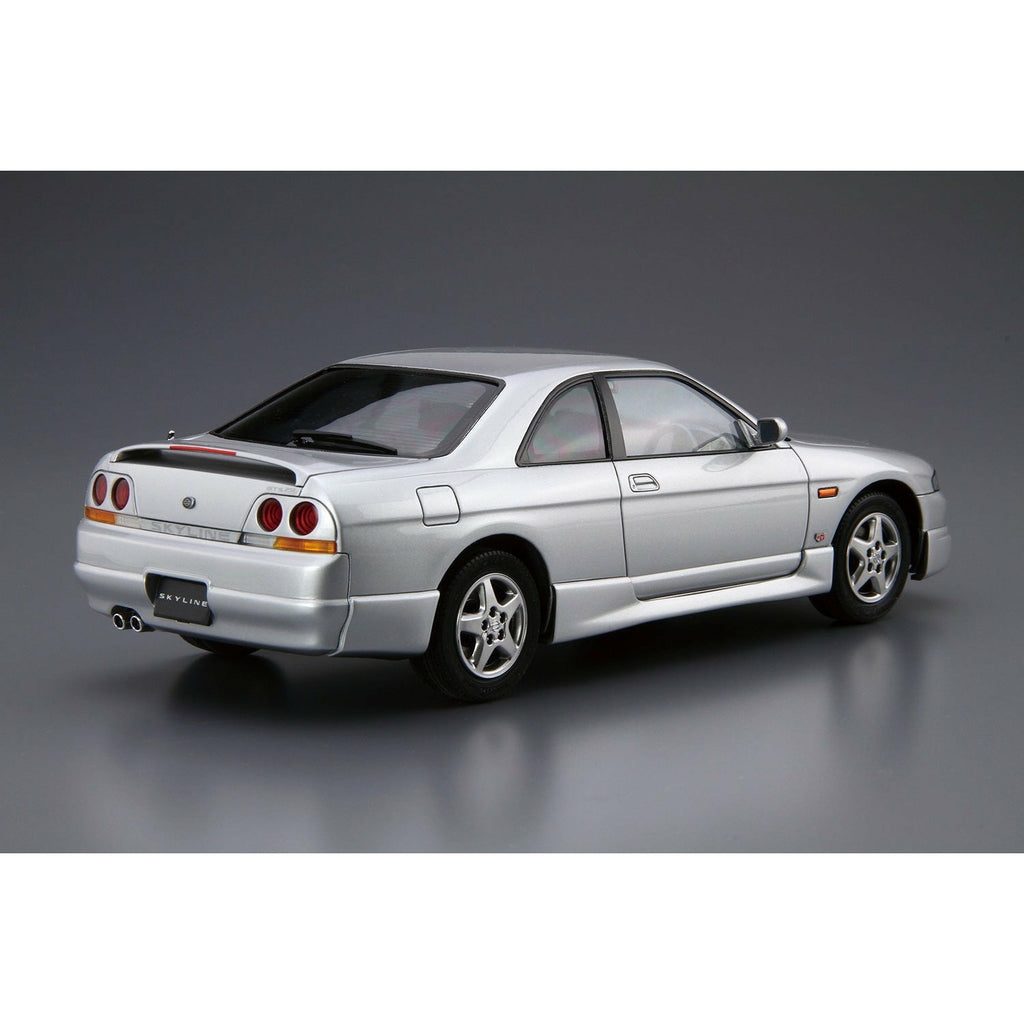(PRE-ORDER: Expected April 2021) Aoshima Model Car #94 Nissan ECR33 Skyline GTS25t Type M '94 1/24 Scale Model Kit