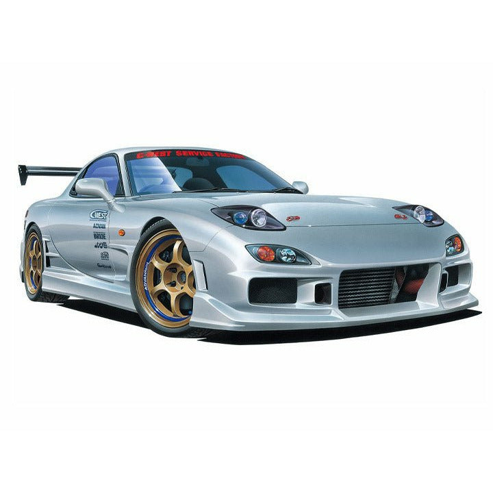 (PRE-ORDER August 2021) Aoshima 1999 Mazda C-West FD3S RX-7 1/24 Scale Model Kit