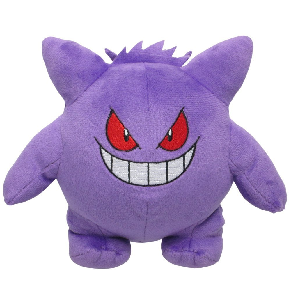 "Sanei Pokemon All Star Collection PP06 Gengar 6"" Stuffed Plush"