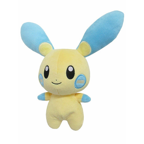 "Sanei Pokemon All Star Collection PP70 Minun 6.5"" Stuffed Plush"