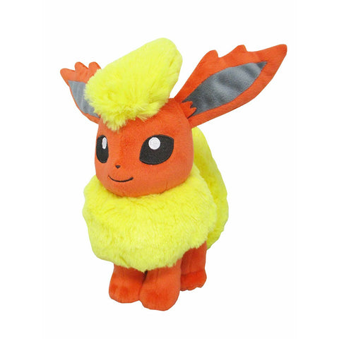 "Sanei Pokemon All Star Collection PP112 Flareon 7"" Stuffed Plush"