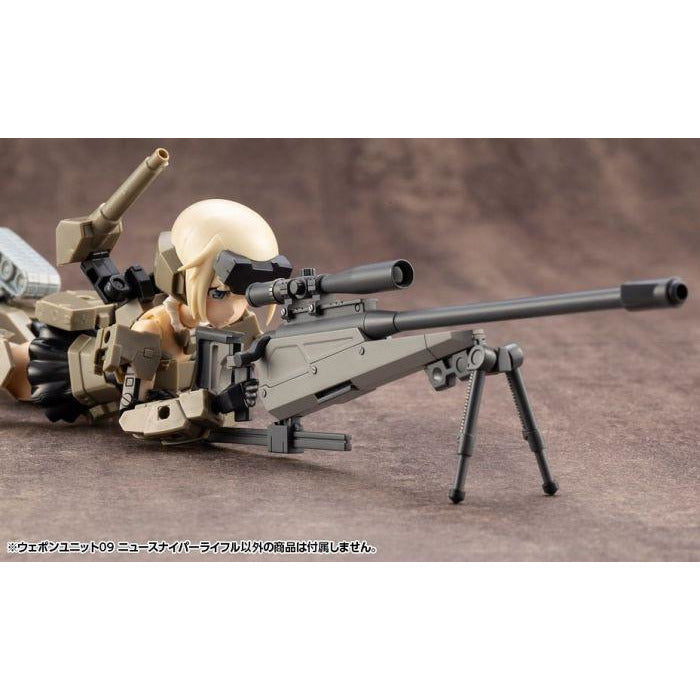 Kotobukiya Mecha Supply Weapon Unit 09 M.S.G. Sniper Rifle Neo Model Kit