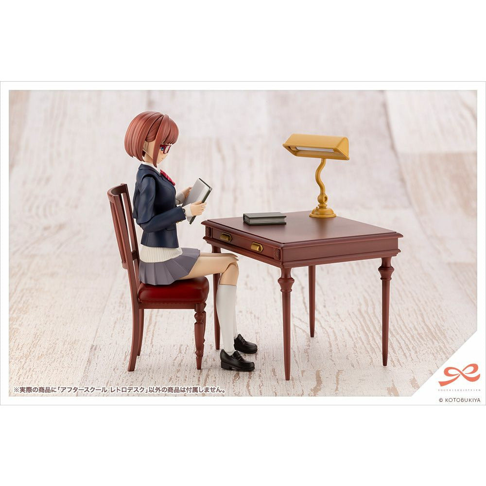 (PRE-ORDER: Expected May 2021) Kotobukiya Sousaishojoteien After School Retro Desk 1/10 Scale Figure Statue