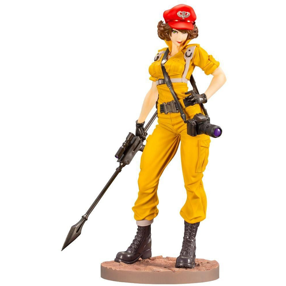 Kotobukiya G.I. Joe Lady Jayne Canary Ann Color Bishoujo Figure Statue (PRE-ORDER March 2021)