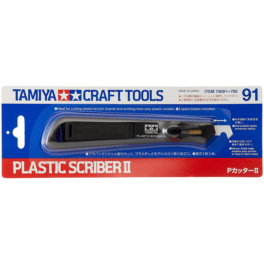 Tamiya 74091 Tamiya Craft Tool Series No.91 Plastic Scriber 2 Model Tool
