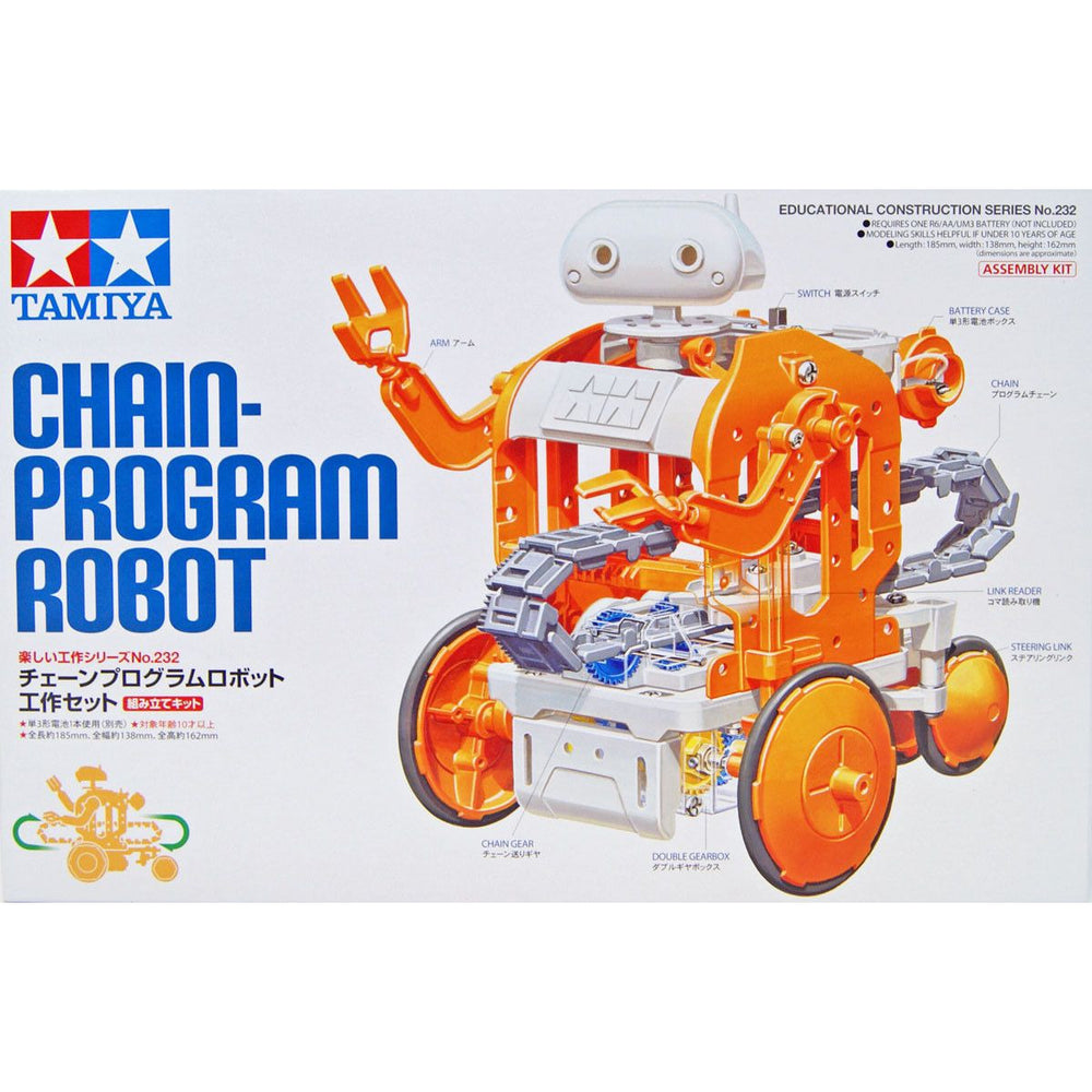 Tamiya 70232 Chain Program Robot Programmable Working Set Model Kit