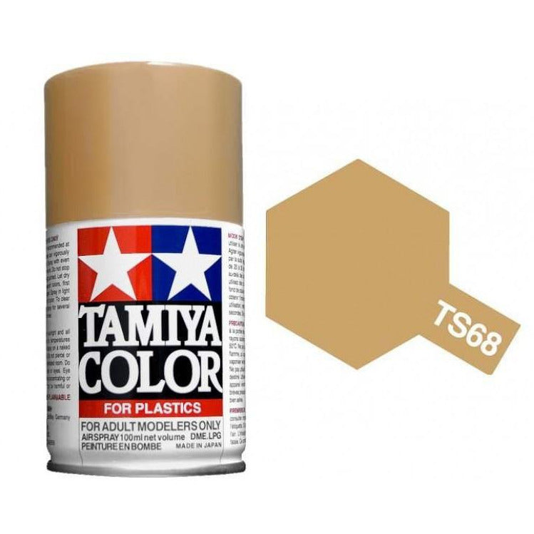Tamiya 85068 TS-68 Wooden Deck Tan Spray Lacquer Paint Aerosol 100ml
